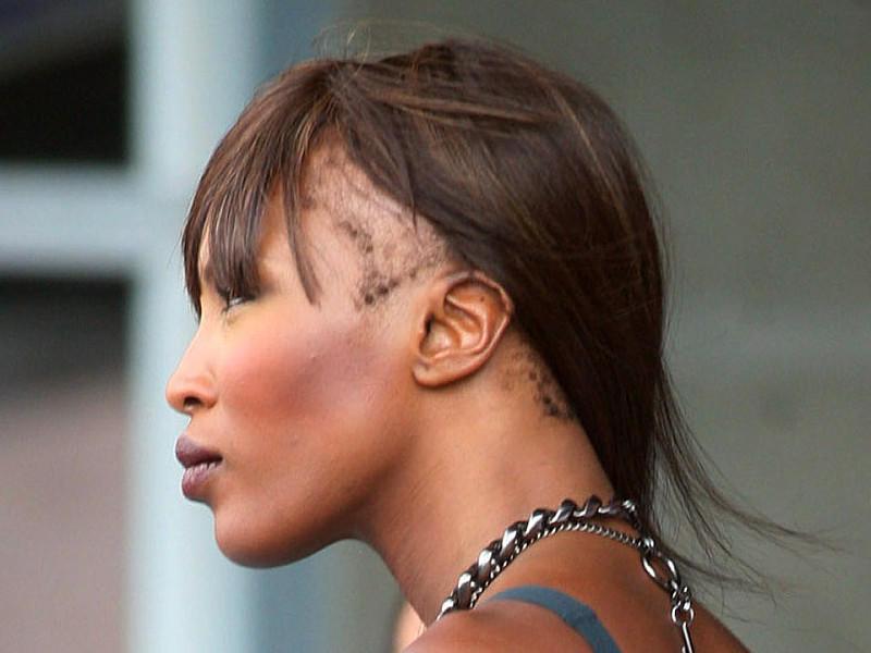 Naomi Campbell Ungeschminkt