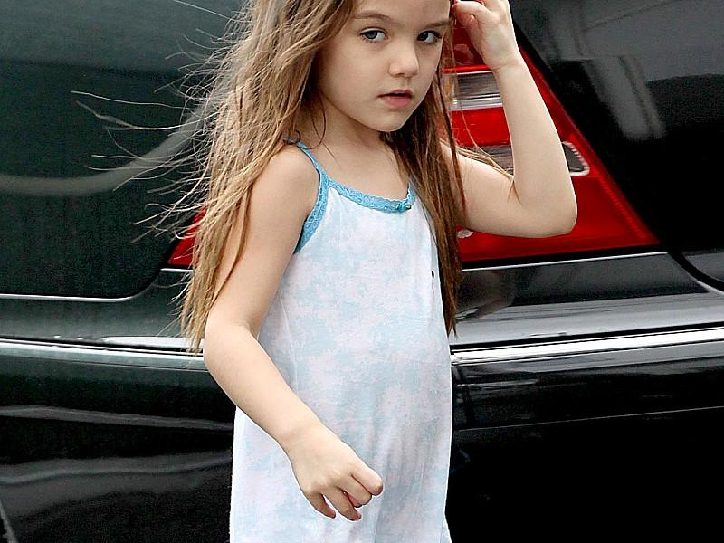 Suri Cruise: Sommerkleid bei Oktober-Wetter