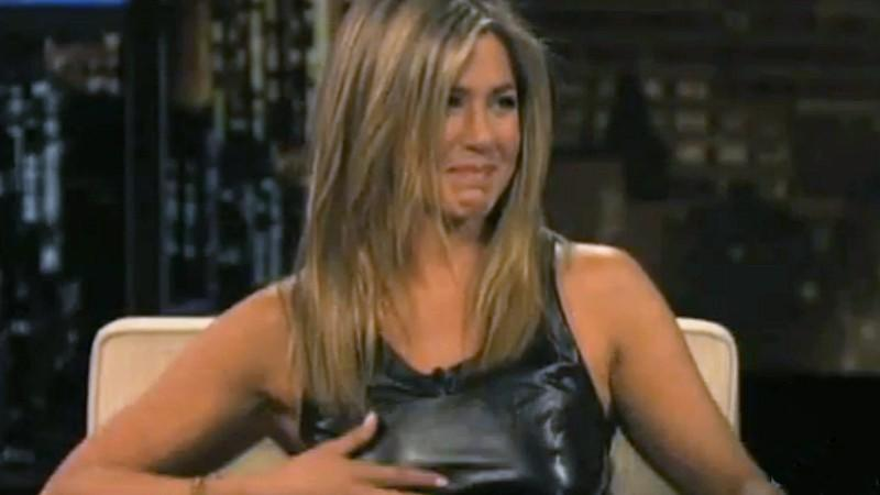 Jennifer Aniston bricht in Trnen aus