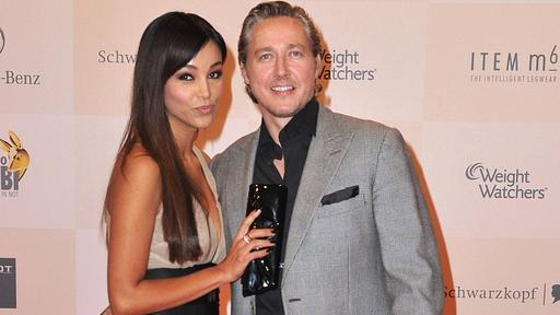 Verona Pooth with cool, charming, Husband Franjo Pooth