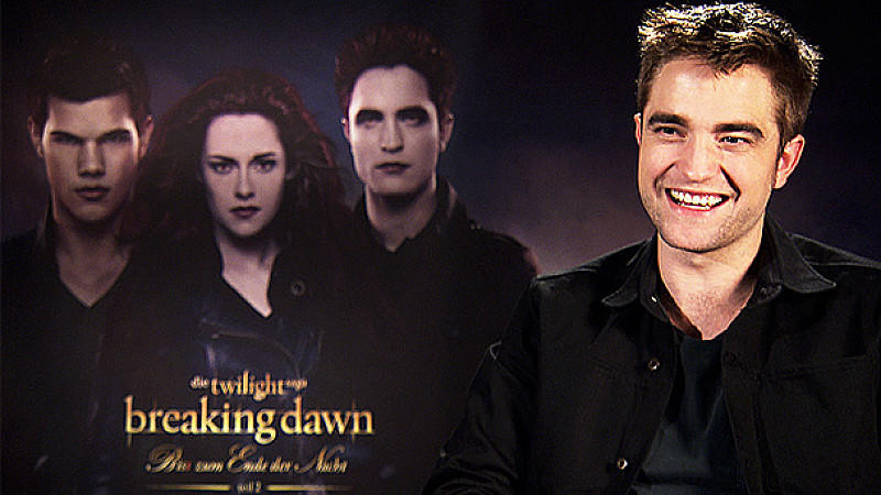Robert Pattinson im Exklusiv-Interview