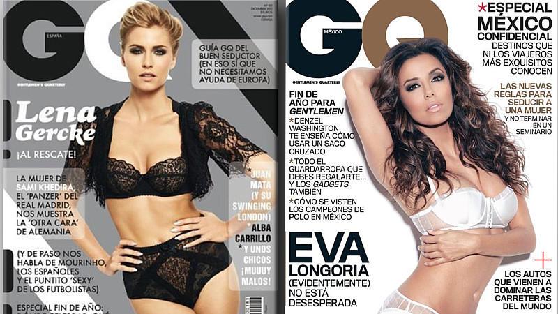 Lena Gercke versus Eva Longoria