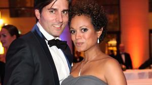 Milka Loff Fernandes mit ihrem Freund Robert Irschara.