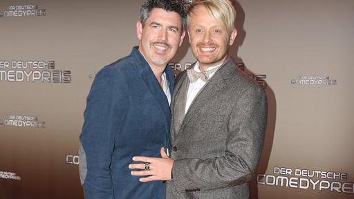Ross Antony und Ehemann Paul wünschen sich