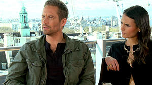 Interview mit Jordana Brewster und Paul Walker