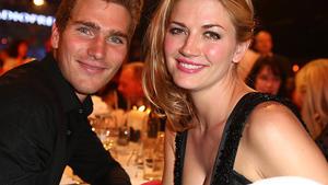 Benjamin Baarz und Nina Bott