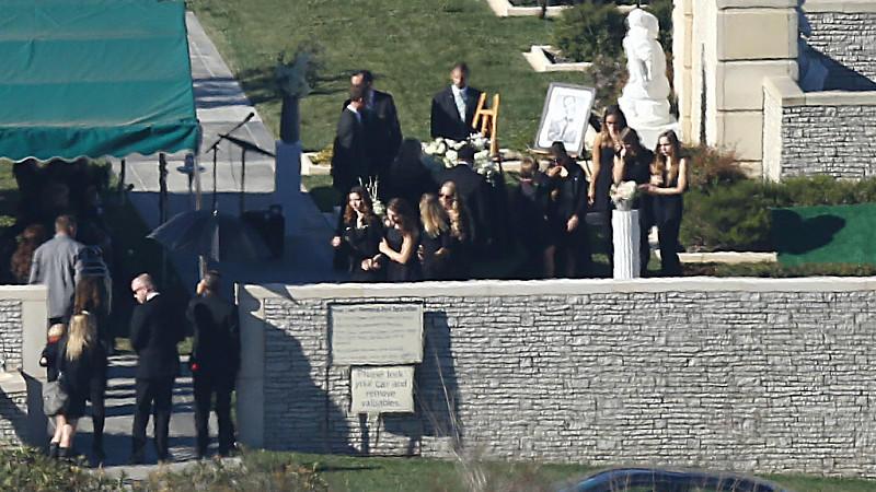 Beerdigung Paul Walker