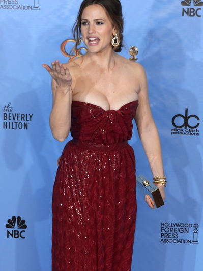 Golden Globes Kleider Styling
