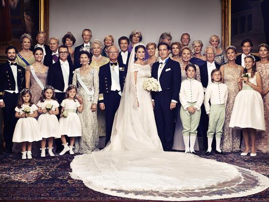 Hochzeit in schweden die schönsten bilder von madeleine und chris o